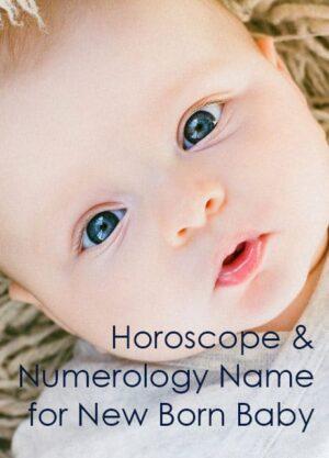 baby horoscope numerology